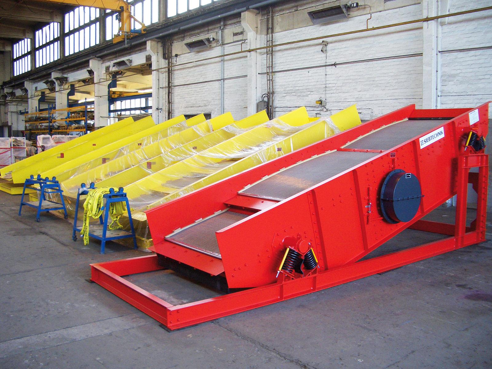 Siebtechnik Tema circular-motion screening machine