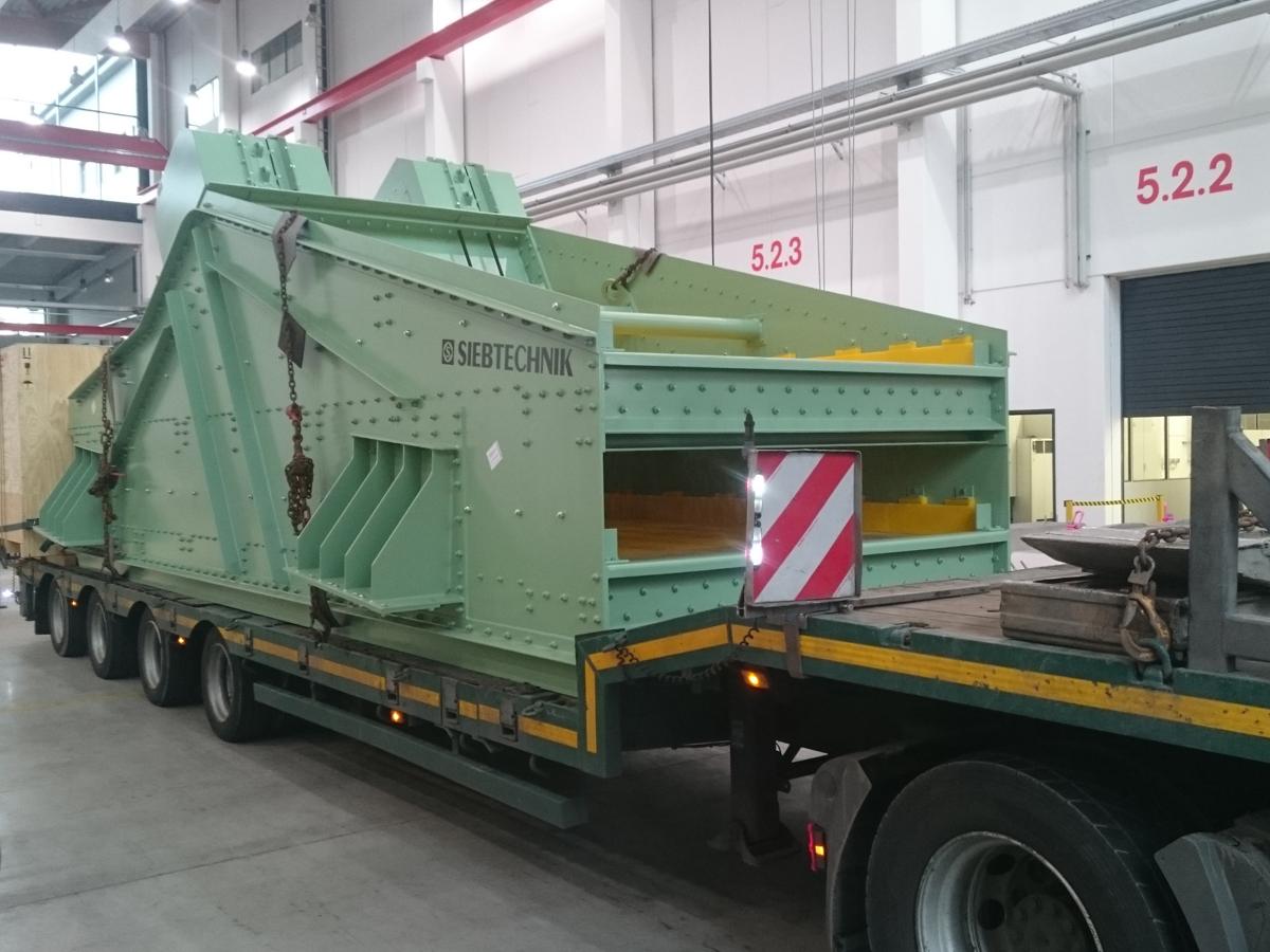 Siebtechnik Tema linear-motion screening machine