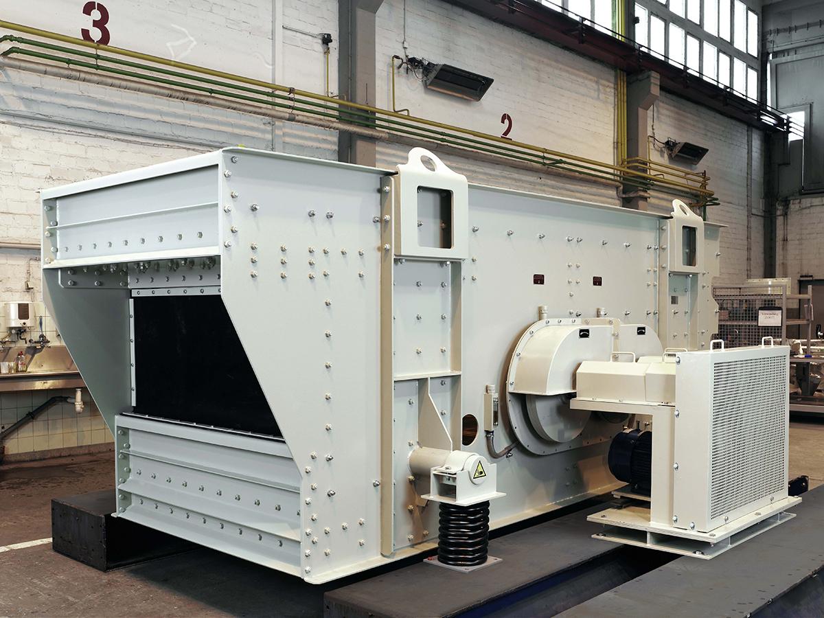 Siebtechnik Tema elliptical-motion screening machine