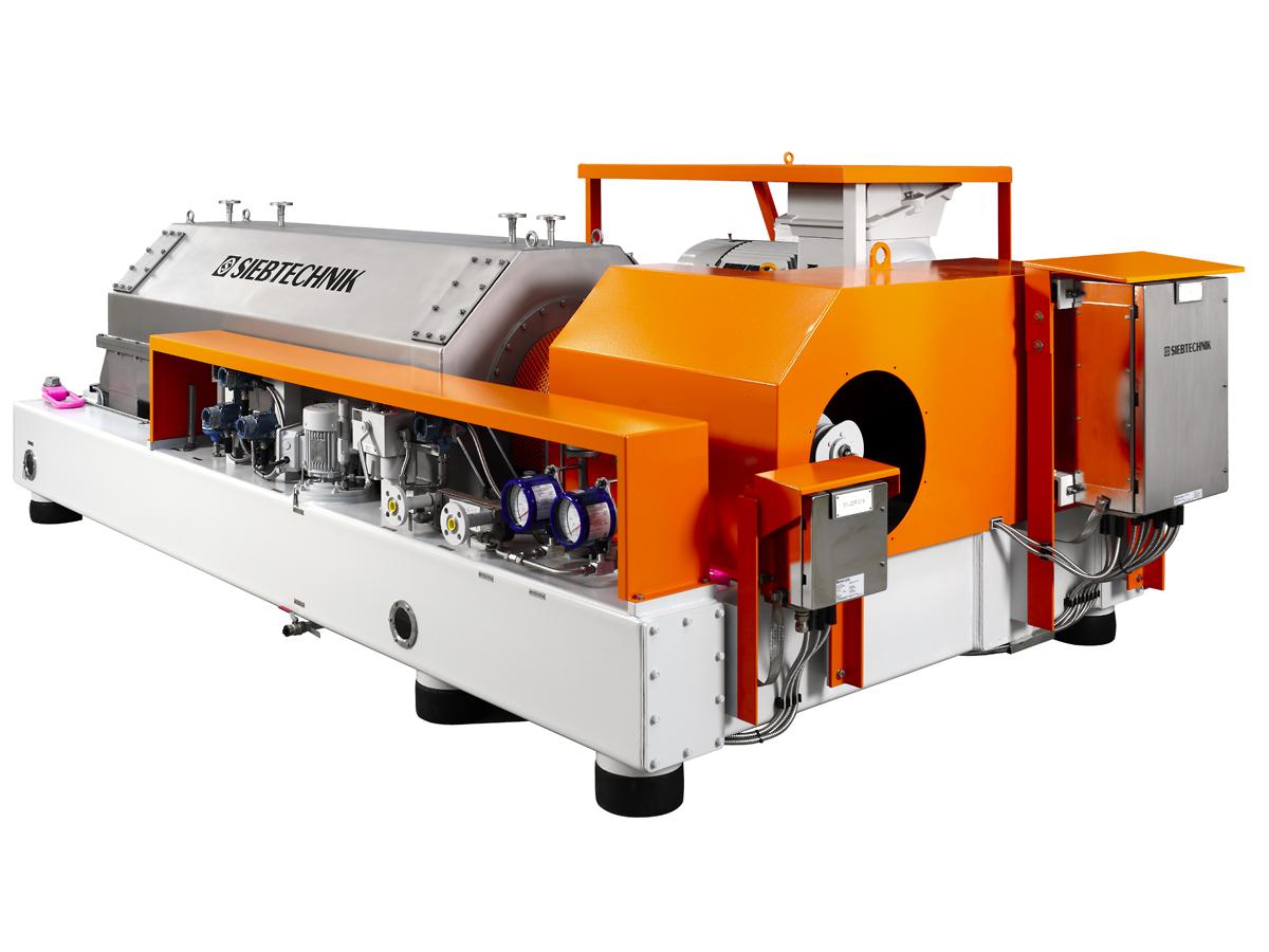 Decanter centrifuge Siebtechnik Tema Australia