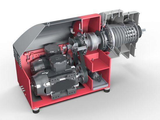 Conthick 3d model Siebtechnik Tema Australia