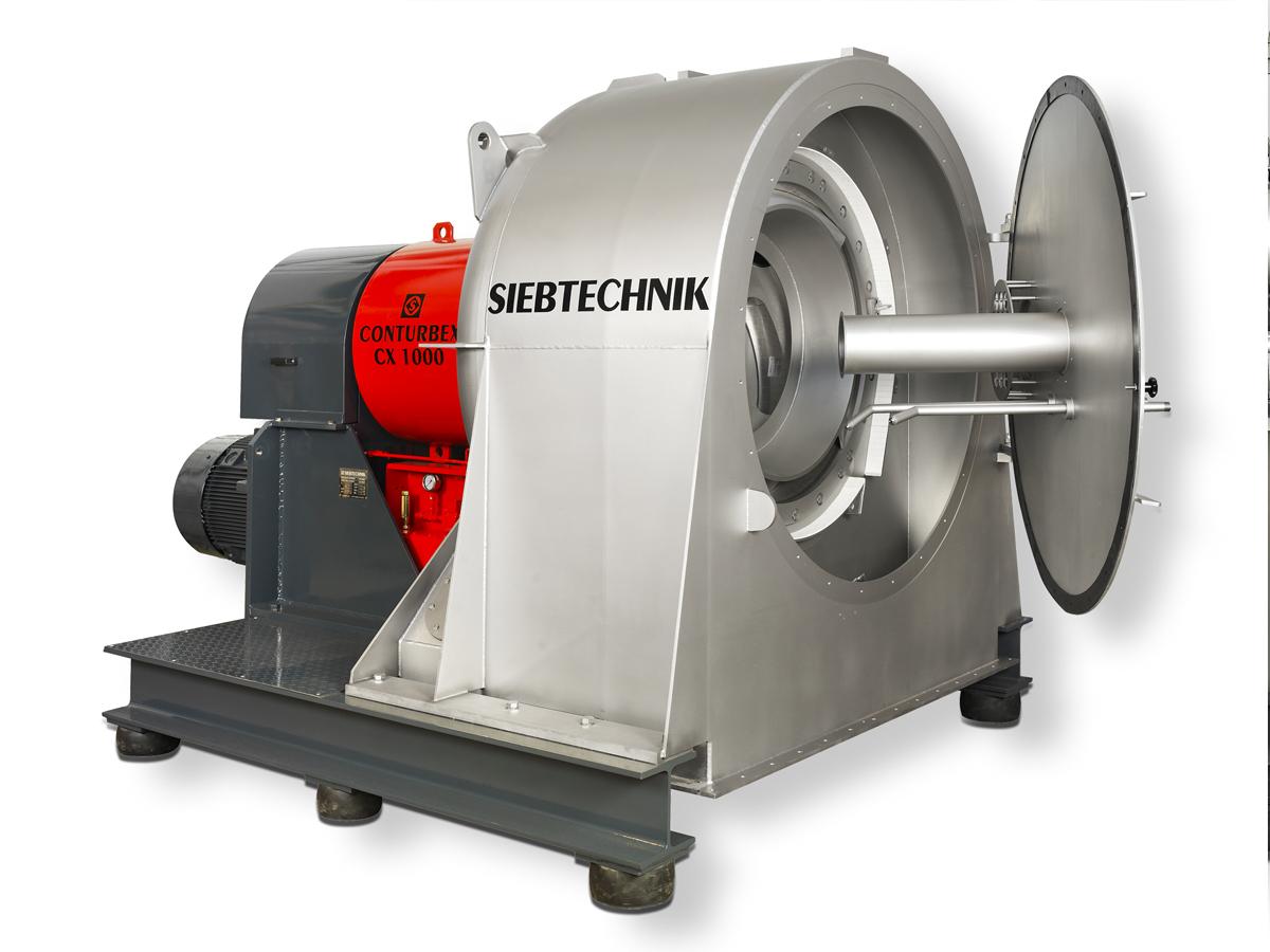 Siebtechnik Tema Conturbex CX screen scroll centrifuge
