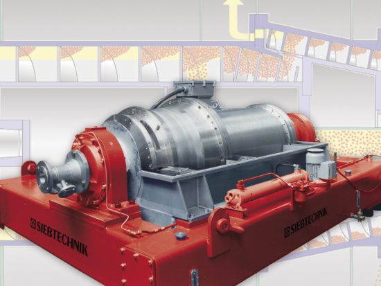 Twincone decanter centrifuge