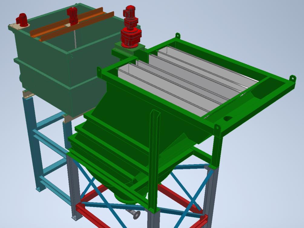 3D model of Lamella - Siebtechnik Tema Australia