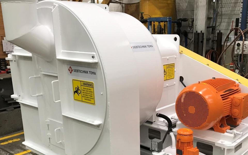 H900 fine coal centrifuge homepage – Siebtechnik Tema Australia