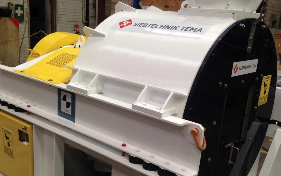 HSG vibrating centrifuge homepage – Siebtechnik Tema Australia