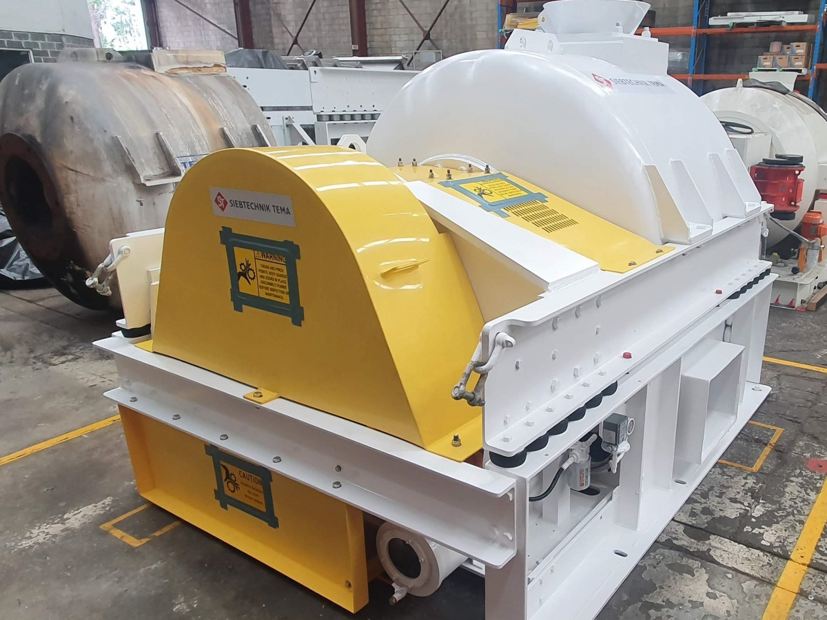 Refurbished coal centrifuge Siebtechnik Tema Australia