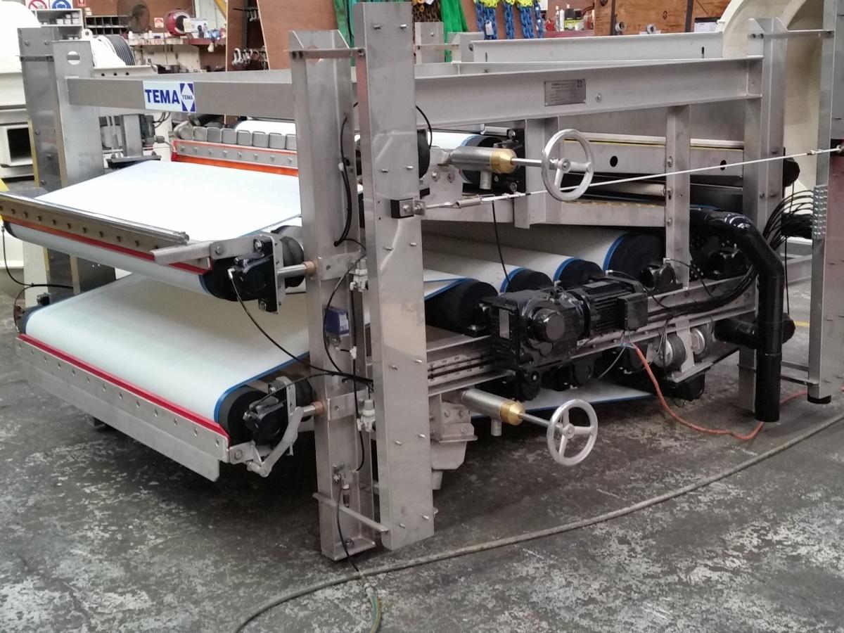 Belt filter press made in Australia Siebtechnik Tema