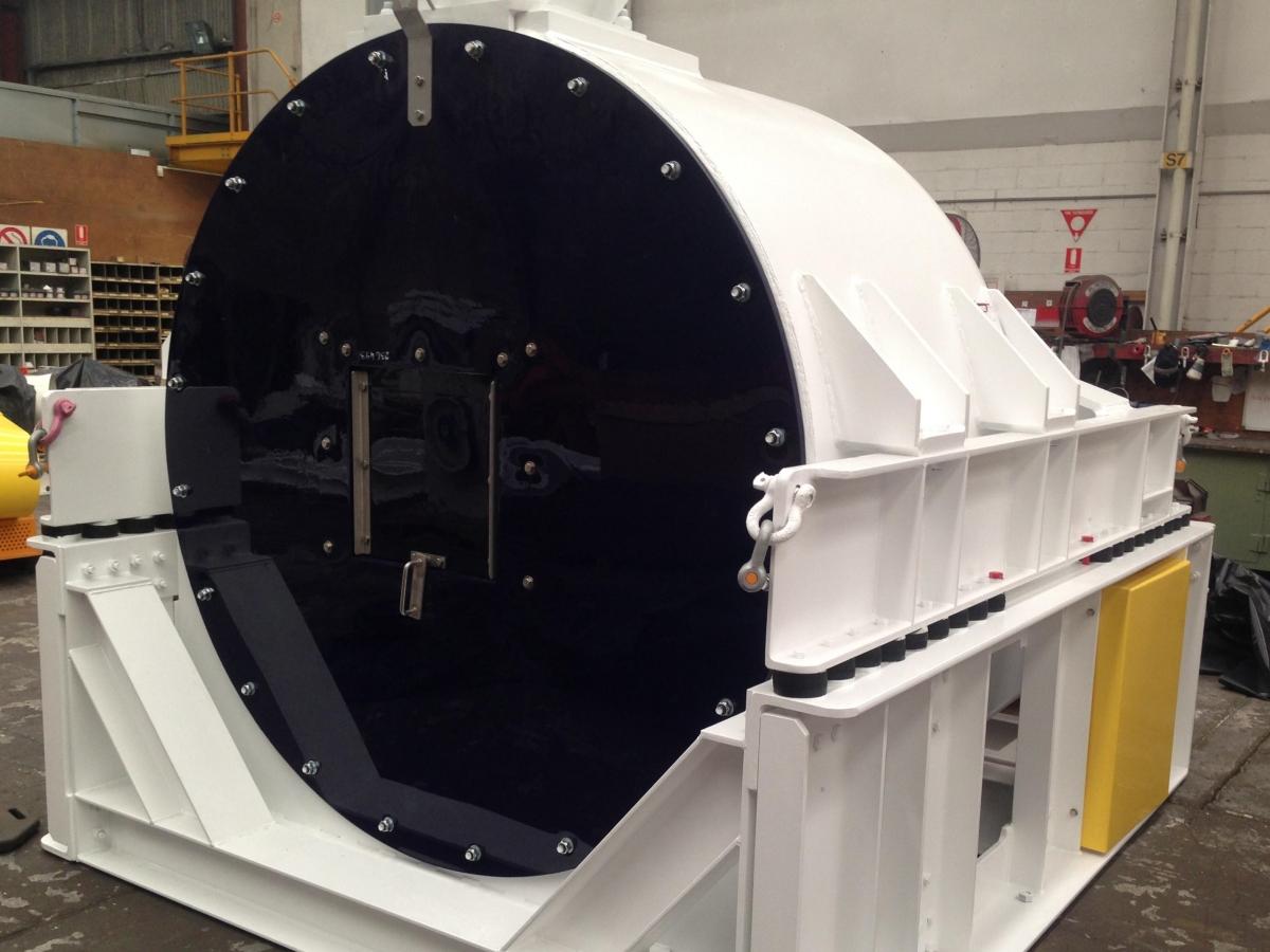 HSG vibrating centrifuge Made in Australia - Siebtechnik Tema
